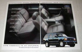 1994 Ford Explorer Ad - Find Yourself In - $14.99