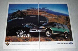 1997 Ford Expedition Ad - All Of The Above - $14.99