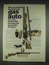 1977 Browning 2000 Gas Auto Shotgun Ad - $14.99