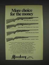 1970 Mossberg 342K, 340M, 640K, 351K Rifle Ad - $14.99