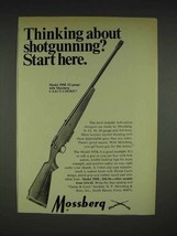 1970 Mossberg 395K 12-gauge Shotgun Ad - Start Here - $14.99