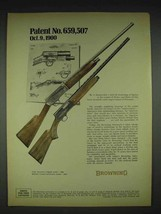 1970 Browning Automatic-5 Shotgun Ad - $14.99