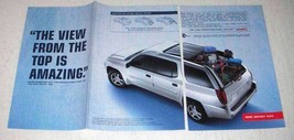 2004 GMC Envoy XUV Ad - View From Top is Amazing - $14.99