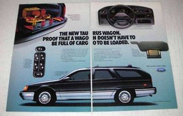 1986 Ford Taurus Wagon Ad - Loaded - $14.99