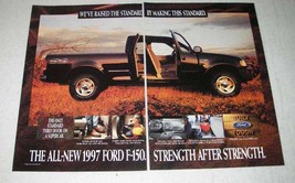 1997 Ford F-150 Pickup Truck Ad - Raised the Standard - $14.99