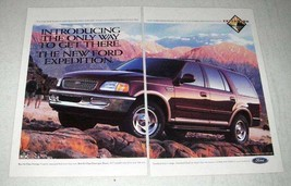 1997 Ford Expedition Ad - Only Way To Get There - $14.99