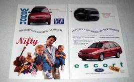 1997 Ford Escort LX Wagon Ad - Driving's a Pleasure - $14.99