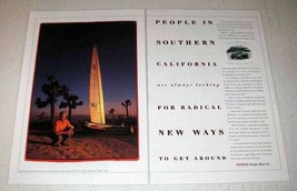 1999 Toyota Car Ad - People in Southern California - $14.99