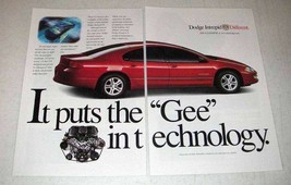 2000 Dodge Intrepid Car Ad - The Gee in Technology - $14.99