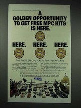 1983 MPC Model Kits Ad - A Golden Opportunity is Here - $14.99