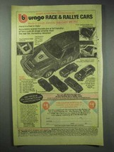 1980 Burago Porsche Carrera Die-Cast Car Ad - $14.99