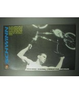 1989 Schwinn Bicycle Ad - Pro BMX, Racing, Freestyle - $14.99