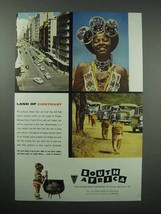 1956 South Africa Tourism Ad - Land of Contrast - $14.99
