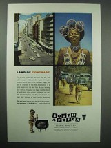 1955 South Africa Tourism Ad - NICE - $14.99