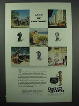 1955 South Africa Tourism Ad - Contrast - $14.99