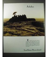 1988 Louis Vuitton Ashabur Pen Ad - $14.99