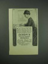 1903 Dixon American Graphite Pencil Ad - $14.99