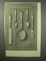 1913 Community Silver Ad - Christmas - $14.99