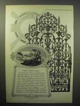 1933 Mimeograph Machine Ad - Open that Gate! - $14.99