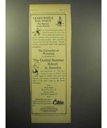 1933 University of Wyoming Ad - Learn, Enjoy Rockies - $14.99