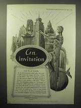 1933 Mimeograph Machine Ad - An Invitation! - $14.99