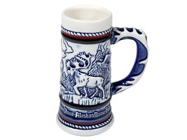 FREE SHIP: Vintage Avon Small Stein - 1983 Endangered Species Embossed Mug - $16.36