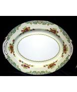 """Vintage Craftsman Fine Porcelain Platter 14"""" Pattern #197 - $18.95"""