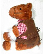 Build-A-Bear Pony Horse Cowgirl Outfit Plush Toy - $9.89