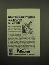 1933 Quaker's Pettijohn's Cereal Ad - Different - $14.99