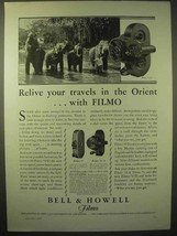 1929 Bell & Howell Filmo 70-D Movie Camera Ad - Orient - $14.99