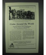 1923 American Express Travel Department Ad - Cruise - $14.99