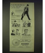 1940 Acushnet Titleist Golf Ball Ad - Fit-to-Be-Tied - $14.99