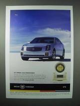 2005 Cadillac CTS Car Ad - Cut Corners - $14.99