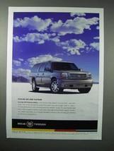 2004 Cadillac Escalade ESV Platinum Edition SUV Ad - $14.99