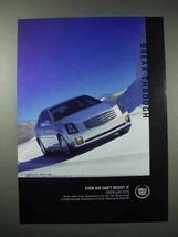 2003 Cadillac CTS Car Ad - Break Through - $14.99