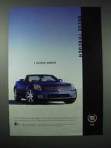 2003 Cadillac XLR Car Ad - A Defining Moment - $14.99