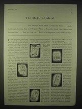 1935 Reynolds Metal Ad - The Magic of Metal - $14.99