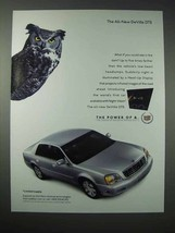 2000 Cadillac DeVille DTS Car Ad - $14.99