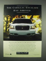 1999 Cadillac Escalade SUV Ad - Has Arrived - $14.99