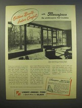 1945 Libbey-Owens-Ford Glass Ad - Thermopane - $14.99