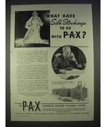 1940 PAX Telephone System Ad - Phoenix Hosiery - $14.99