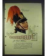 1940 Chesterfield Cigarettes Ad - Marion Hutton - $14.99