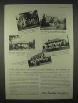 1935 Otis Elevator Ad - A New Convenience - $14.99