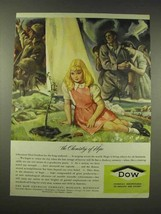 1944 Dow Chemicals Ad - The Chemistry of Hope - $14.99