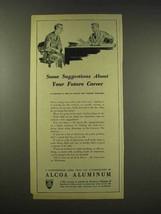 1944 Alcoa Aluminum Ad - Your Future Career - $14.99