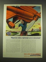 1944 Revere Copper and Brass Ad - Magnesium Lightweight - $14.99