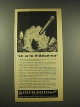 1944 Robbins & Myers Ad - 5-11 on the Wilhelmstrasse - $14.99