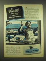 1944 The Seattle Times Newspaper Ad - New Homes - $14.99