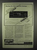 1943 Aerovox Type 38 Mica-Capacitor Alternate Ad - $14.99