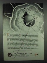 1943 Thomas & Betts Electronics Ad - Know Little - $14.99